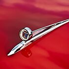 1957 Ford Fairlane 500 Hood Ornament by onyonet photo studios