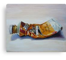 Oil on canvas ~ Yellow Ochre Canvas Print