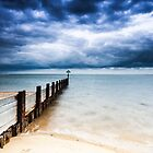 Moody Beach by Adam Davies