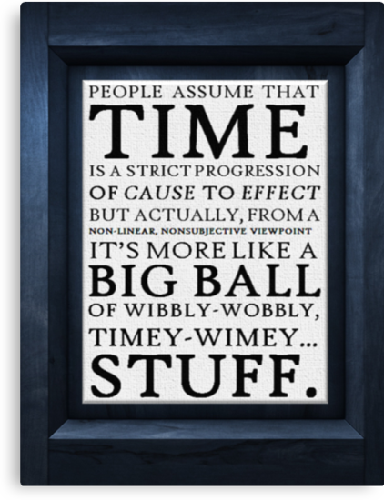 Wibbly-Wobbly, Timey-Wimey.. Stuff! by thesoundofdrums
