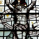Christ Stained Glass Window by Imager