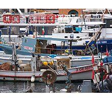 IL MERCATO NEL MARE - BUT WHAT LOVELY MARKET IN THE SEA - CAMOGLI - ITALY .EUROPA-VETRINA RB EXPLORE 27-11-2012 Photographic Print