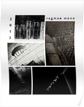 Ragman mono X files calendar cover by ragman