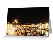 Weymouth Harbour, England Greeting Card