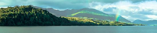 Rainbow Over Loch Awe by maekstar