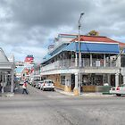 Bay Street &amp; Frederick Street in Downtown Nassau, The Bahamas by 242Digital
