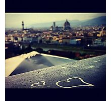 The Heart Of Florence Photographic Print