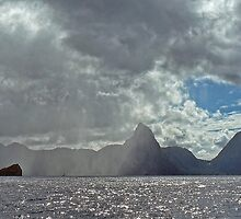 Pitons by globeboater