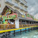 """Senor Frog"" on Woodes Rodgers Walk in Nassau, The Bahamas by 242Digital"