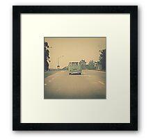 Hit The Road... Framed Print