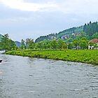 Bosnian River Scene by Graeme  Hyde