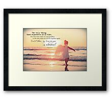 May 2013 - Lost For Words Framed Print