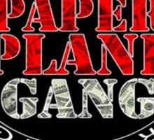 Paper Plane Gang Sticker