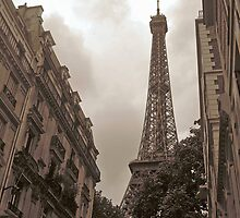 Eiffel Tower in Neighborhood by Amy McHugh