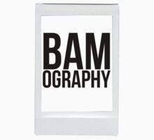 BAMography logo in border (large logo) by VanPerriStudios