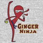 Ginger Ninja by Brendan Watson