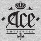 Ace, Sheffield Tee - Straight Up Emblem by Shane Rounce