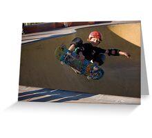 Airborne Grommet - Empire Park Skate Park Greeting Card