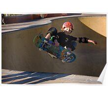 Airborne Grommet - Empire Park Skate Park Poster