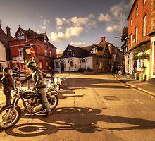 Triumph in Much Wenlock  by Rob Hawkins