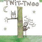 twit-twoo (i mean thank you) by Cat Bruce