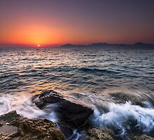 Sunset Swash. by OsmalleyPhoto
