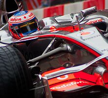 Jenson Button - Mclaren MP4-23 by Colin Shepherd