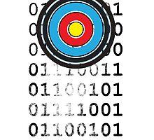 Bullseye archery target design by Veera Pfaffli