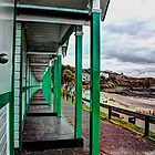 Langland Beach Huts by Tsitra