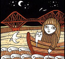 Flos Firth Fishing Boat by Anita Inverarity