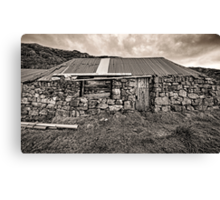 Disused Croft House Canvas Print