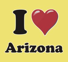 I Heart / Love Arizona by HighDesign