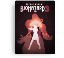 Biohazard 3 Canvas Print