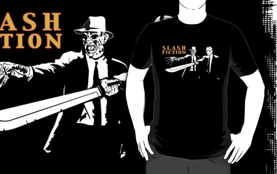"SLASH FICTION (Limited Edition of 10) Shirt ""ONLY 1 LEFT""  by TeeHut"