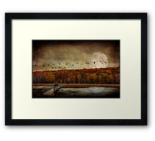 All things must pass.. Framed Print