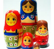 Babooshka family by Leigh Kerr