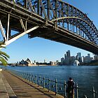 They're good at building bridges in Sydney by PhotosByG