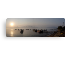 Ilhabela Dawn Canvas Print