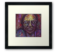 The Abyss Looks Back Framed Print