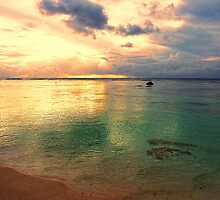 Golden lagoon by Chris Brunton