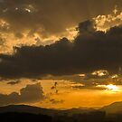 Urban sunset by Ian Middleton