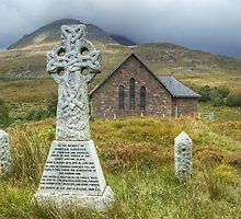 The Church By Torridon by Jamie  Green