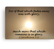 """2 Corinthians 3:1"" by Carter L. Shepard Canvas Print"
