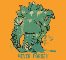 Never Forget Stegosaurus by MudgeStudios