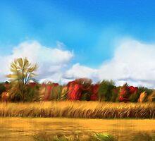 Autumn Fields by Alma Lee