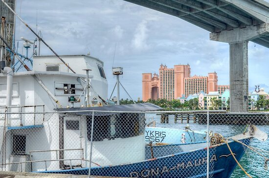 Atlantis view from Potter's Cay by 242Digital
