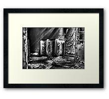 Abandoned Ceramic Framed Print