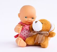 Dolly & Teddy by Anaa