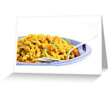 Pasta Treat Greeting Card