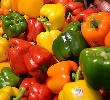 Sweet Peppers by moregoodart